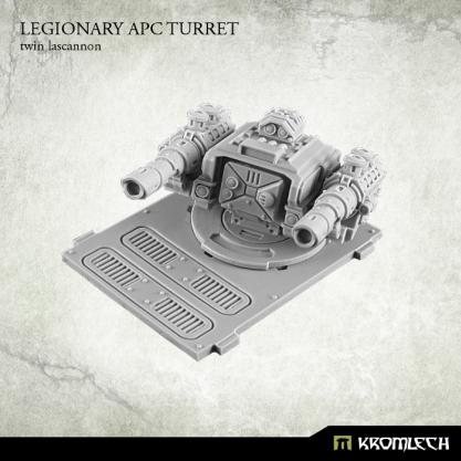 Kromlech Conversion Bitz: Legionary APC turret - Twin Lascannon (1)