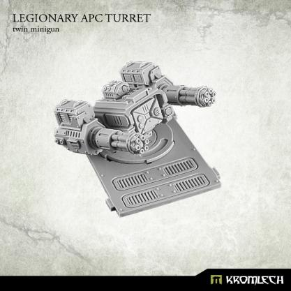 Kromlech Conversion Bitz: Legionary APC turret - Twin Minigun (1)