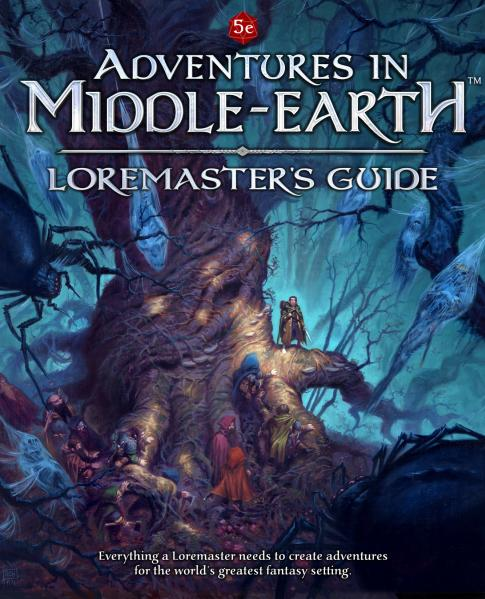 Dungeons & Dragons RPG: Adventures In Middle-Earth Loremaster's Guide