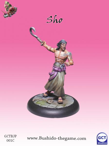 Bushido Miniatures: (Jung Pirates) Sho