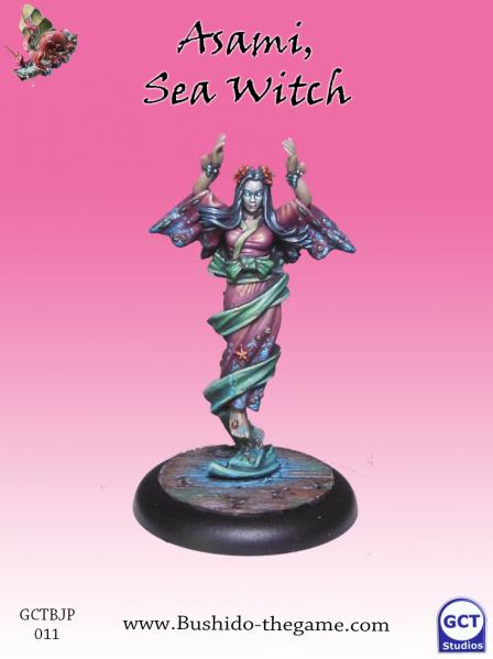 Bushido Miniatures: (Jung Pirates) Asami, Sea Witch