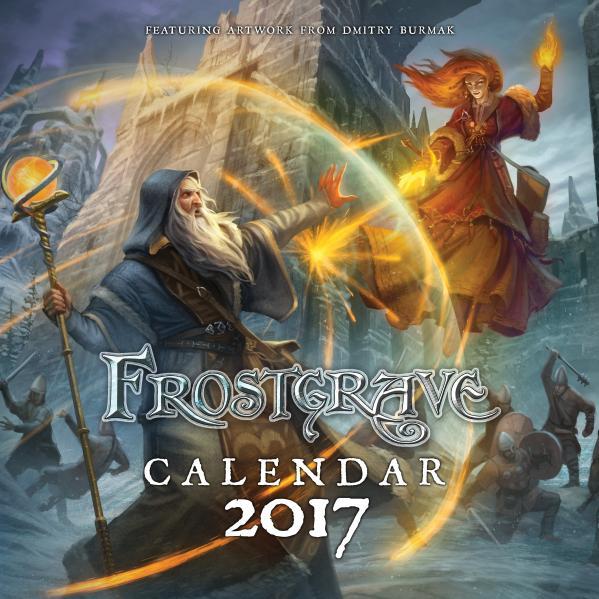 Frostgrave 2017 Calendar