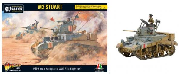 Bolt Action, 2nd Edition: (USA)  M3 Stuart