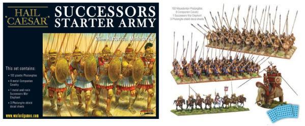 Hail Caesar: (Macedonian) Successor Starter Army