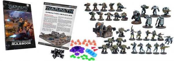 Warpath Firefight: Operation Heracles Two-Player Battle Set