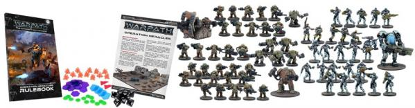 Warpath: Operation Heracles Two-Player Mega Battle Set