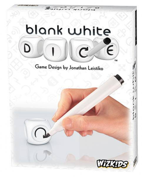 Blank White Dice Game