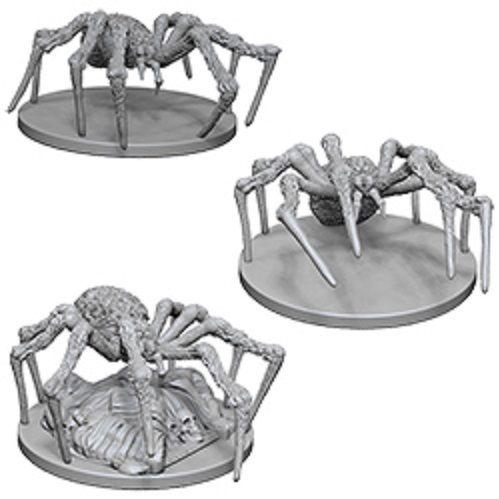D&D Nolzurs Marvelous Unpainted Minis: Spiders