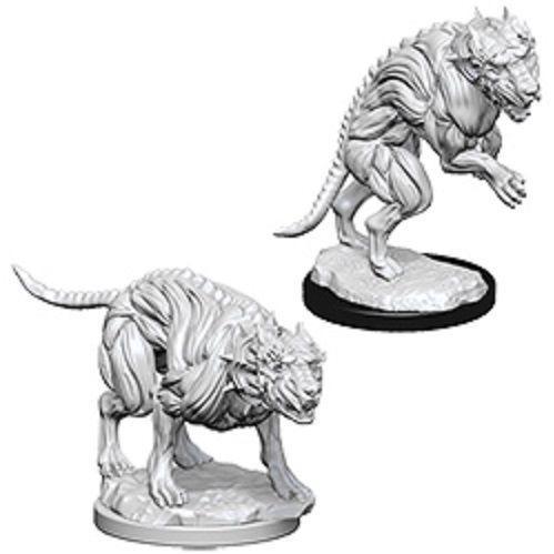 Pathfinder Deep Cuts Unpainted Miniatures: Hell Hounds