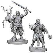 Pathfinder Deep Cuts Unpainted Miniatures: Human Male Cleric