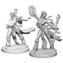 Pathfinder Deep Cuts Unpainted Miniatures: Human Female Sorcerer