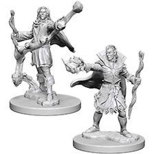 Pathfinder Deep Cuts Unpainted Miniatures: Elf Male Sorcerer