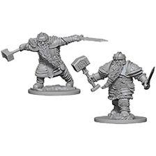 D&D Nolzurs Marvelous Unpainted Minis: Dwarf Male Fighter