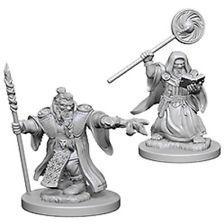 D&D Nolzurs Marvelous Unpainted Minis: Dwarf Male Wizard