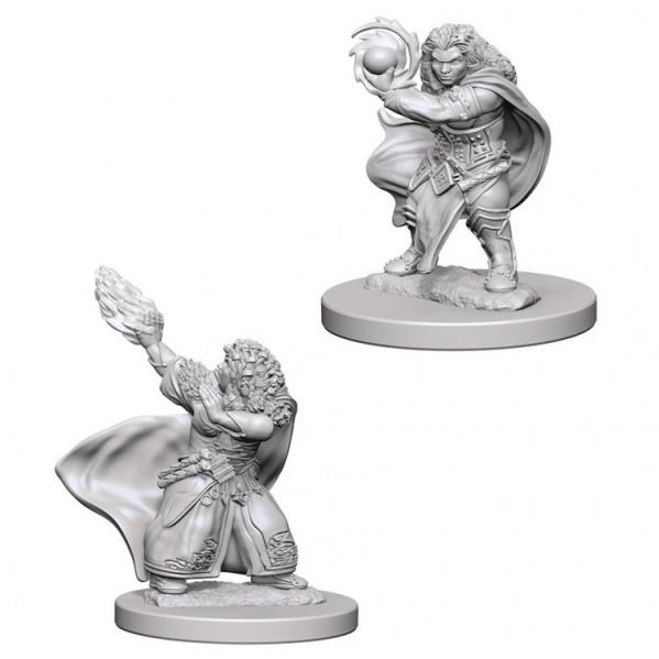 D&D Nolzurs Marvelous Unpainted Minis: Dwarf Female Wizard