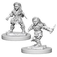 D&D Nolzurs Marvelous Unpainted Minis: Halfling Female Rogue