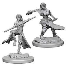 D&D Nolzurs Marvelous Unpainted Minis: Human Female Monk