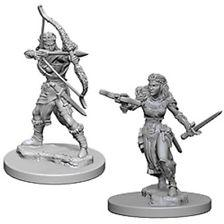D&D Nolzurs Marvelous Unpainted Minis: Elf Female Ranger