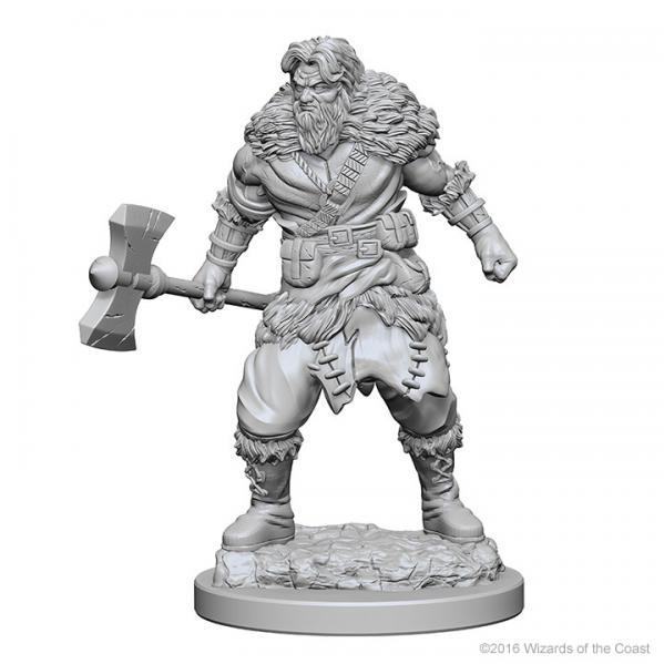 D&D Nolzurs Marvelous Unpainted Minis: Human Male Barbarian