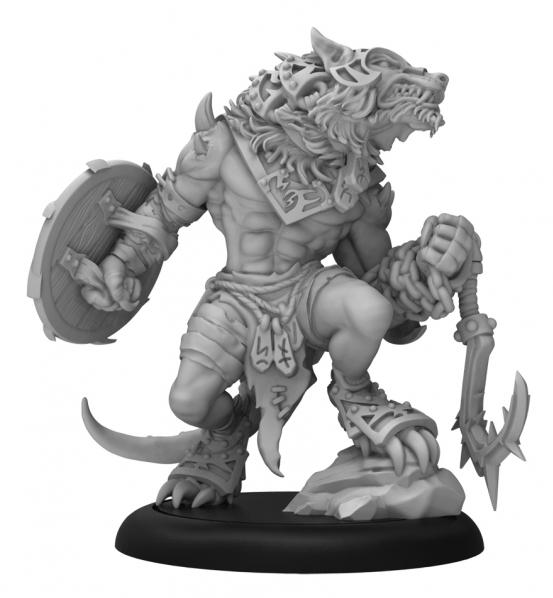 Hordes: (Circle Orboros) Loki - Circle Orboros Character Warbeast (Metal/Resin)