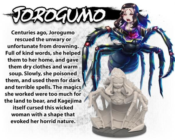 Ninja All-Stars: Jorogumo (Expansion)