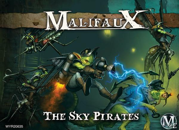 Malifaux: (The Gremlins) The Sky Pirates