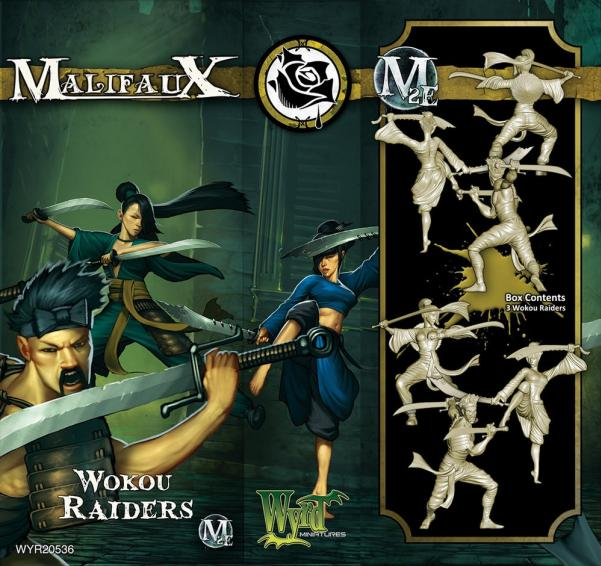 Malifaux: (Ten Thunders) Wokou Raiders