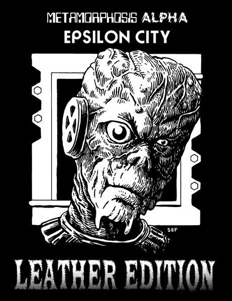 Metamorphosis Alpha RPG: Epsilon City Box Set (Leather Bound Edition)