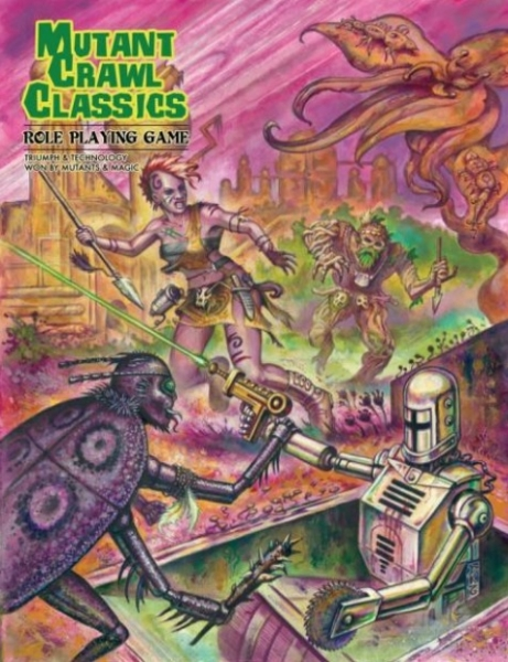 Mutant Crawl Classics (HC)