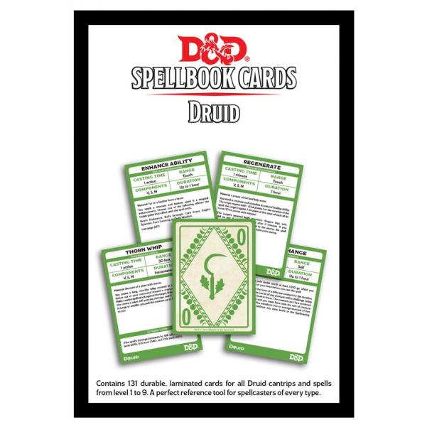 D&D: Spellbook Cards: Druid Deck (131 Cards)