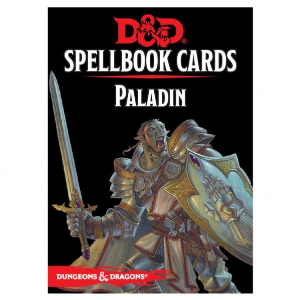 D&D 5th Edition RPG: Paladin Spellbook Deck (69 Cards)
