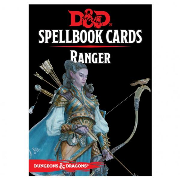 D&D 5th Edition RPG: Ranger Spellbook Deck (46 Cards)
