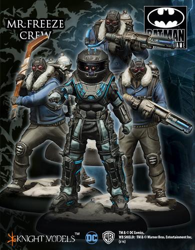 Batman Miniature Game: Mr. Freeze Crew