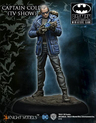 Batman Miniature Game: Captain Cold