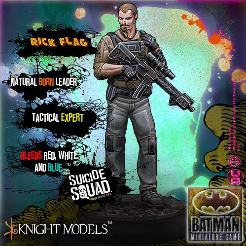 Batman Miniature Game: Rick Flag