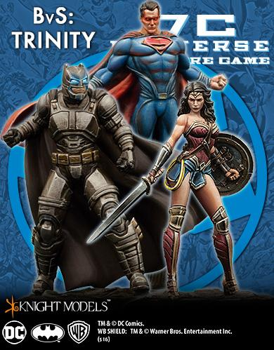 DC Comics Premium Miniatures: Batman Vs Superman - Trinity