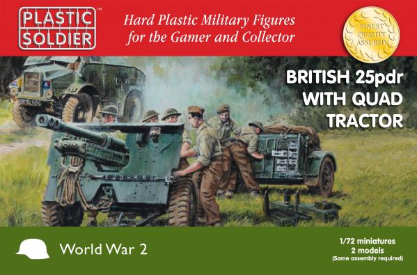 20mm WWII: (British) 25pdr with Morris Quad Tractor