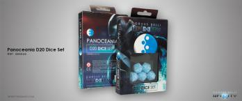 Infinity Accessories: PANOCEANIA D20 DICE SET