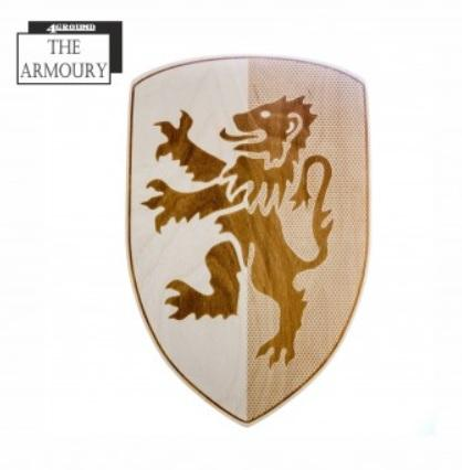 4Ground Armoury: Etched Shield - Lion Rampant
