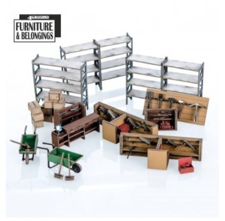 28mm Furniture: Hardware Store Collection