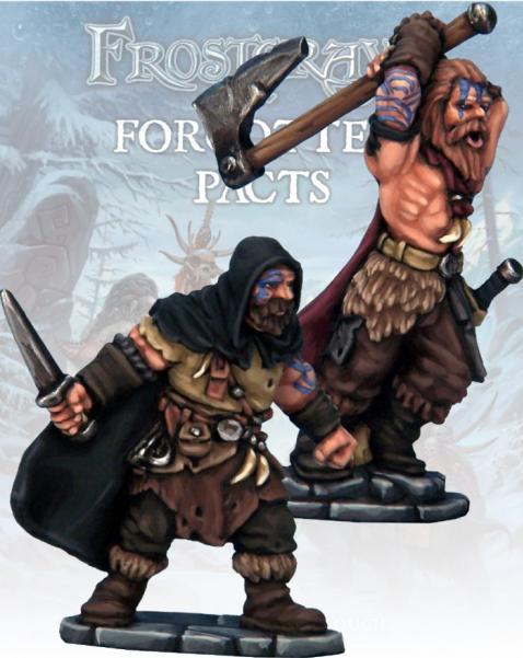 Frostgrave: Barbarian Thief & Berserker