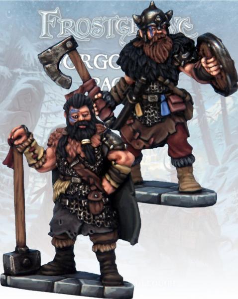 Frostgrave: Barbarian Knight & Templar