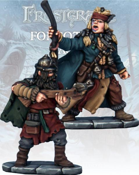 Frostgrave: Barbarian Apothecary & Marksman
