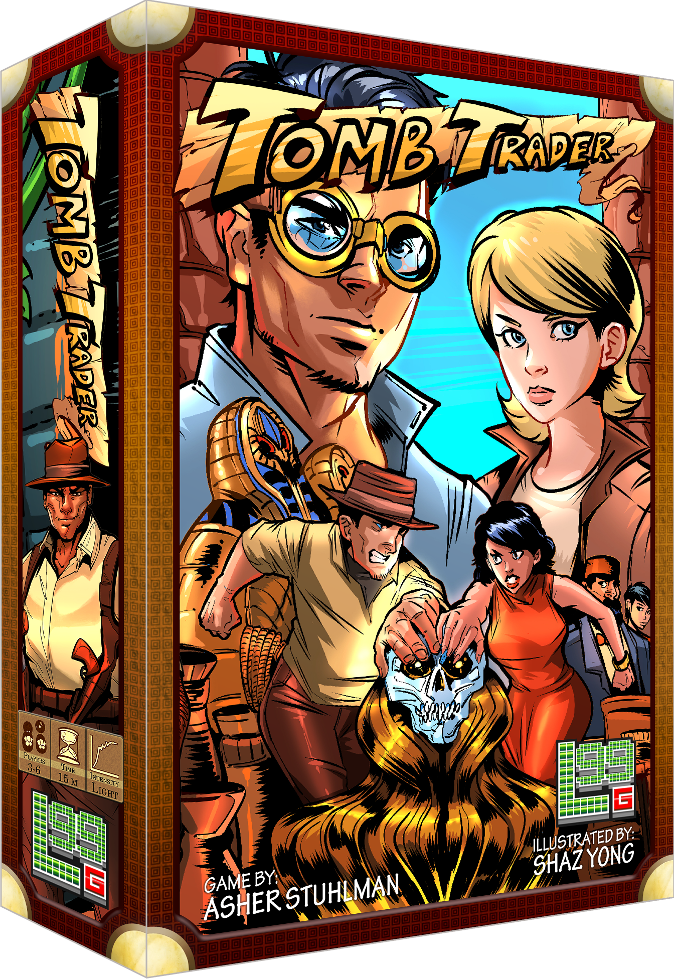 Tomb Trader (Boxed Card Game)