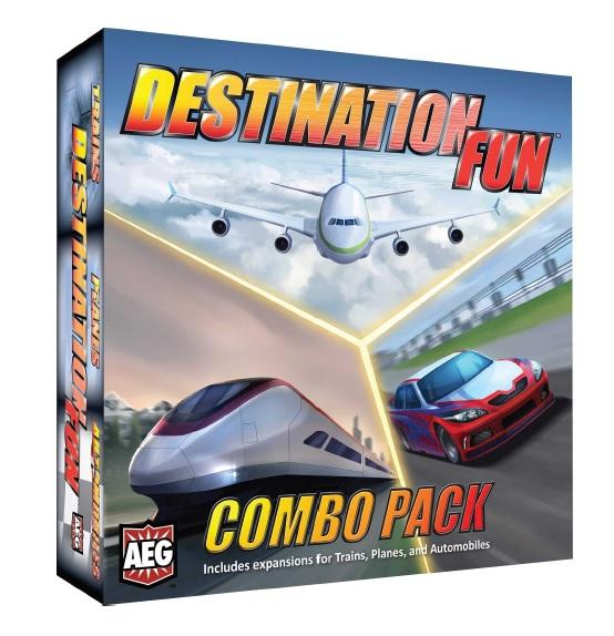 Trains/Planes/Automobiles: Destination Fun Combo Pack
