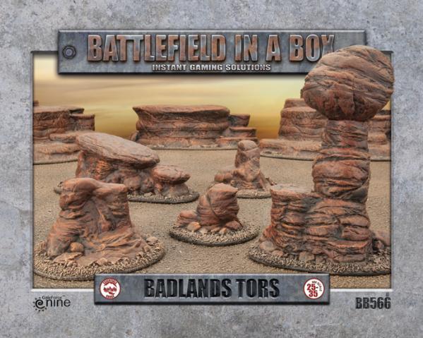 Battlefield in a Box: Badlands Tors - Mars (x5) - 30mm
