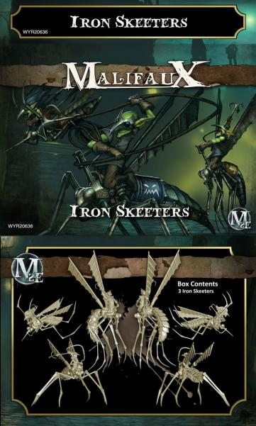 Malifaux: (The Gremlins) Iron Skeeters