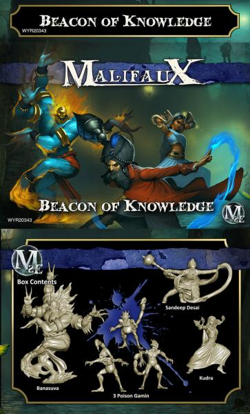 Malifaux: (The Arcanists) Beacon of Knowledge