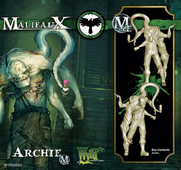 Malifaux: (Resurrectionists) Archie