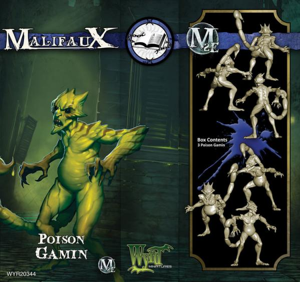 Malifaux: (The Arcanists) Poison Gamin